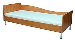 Кровать односпальная боковина справа, без матраса в школу ,садик