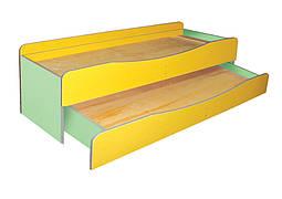 Кровать детская 2-ярусная в сад, без матраса в детский сад, школу.