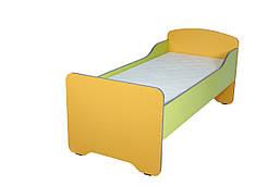 Кровать детская с высокими перилами в сад, без матраца в детский сад, школу.