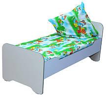 Кровать детская в сад без матраса в детский сад, школу.