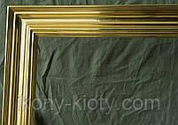 Деревянная рама, позолоченная сусальным золотом., фото 4
