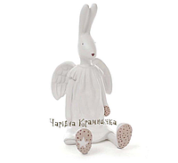 Декоративная копилка пасхальный кролик-ангел