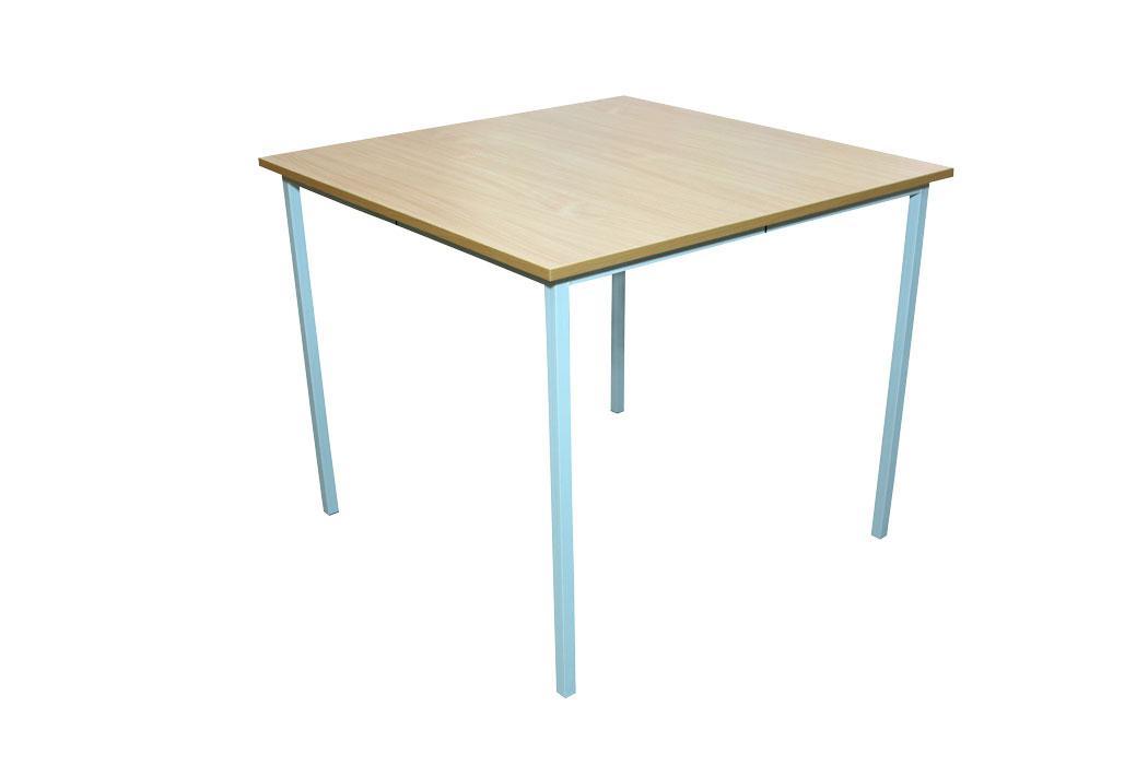 Стол для столовых квадратный 4-местный, ростовая группа №6