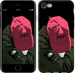 "Чехол на iPhone 7 logo de yeezy ""3995c-336-328"""