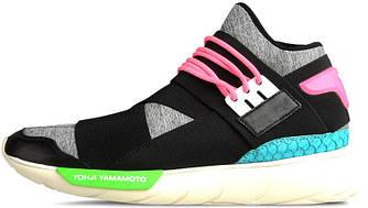 Мужские кроссовки Adidas Y-3 Black Neon, адидас у3