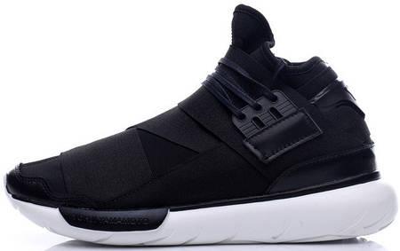 Мужские кроссовки Adidas Y-3 Qasa Black/White