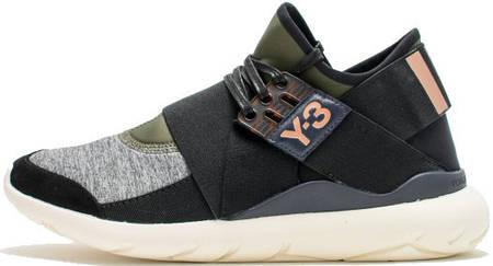 Мужские кроссовки Adidas Y-3 Qasa Elle Lace, адидас У 3
