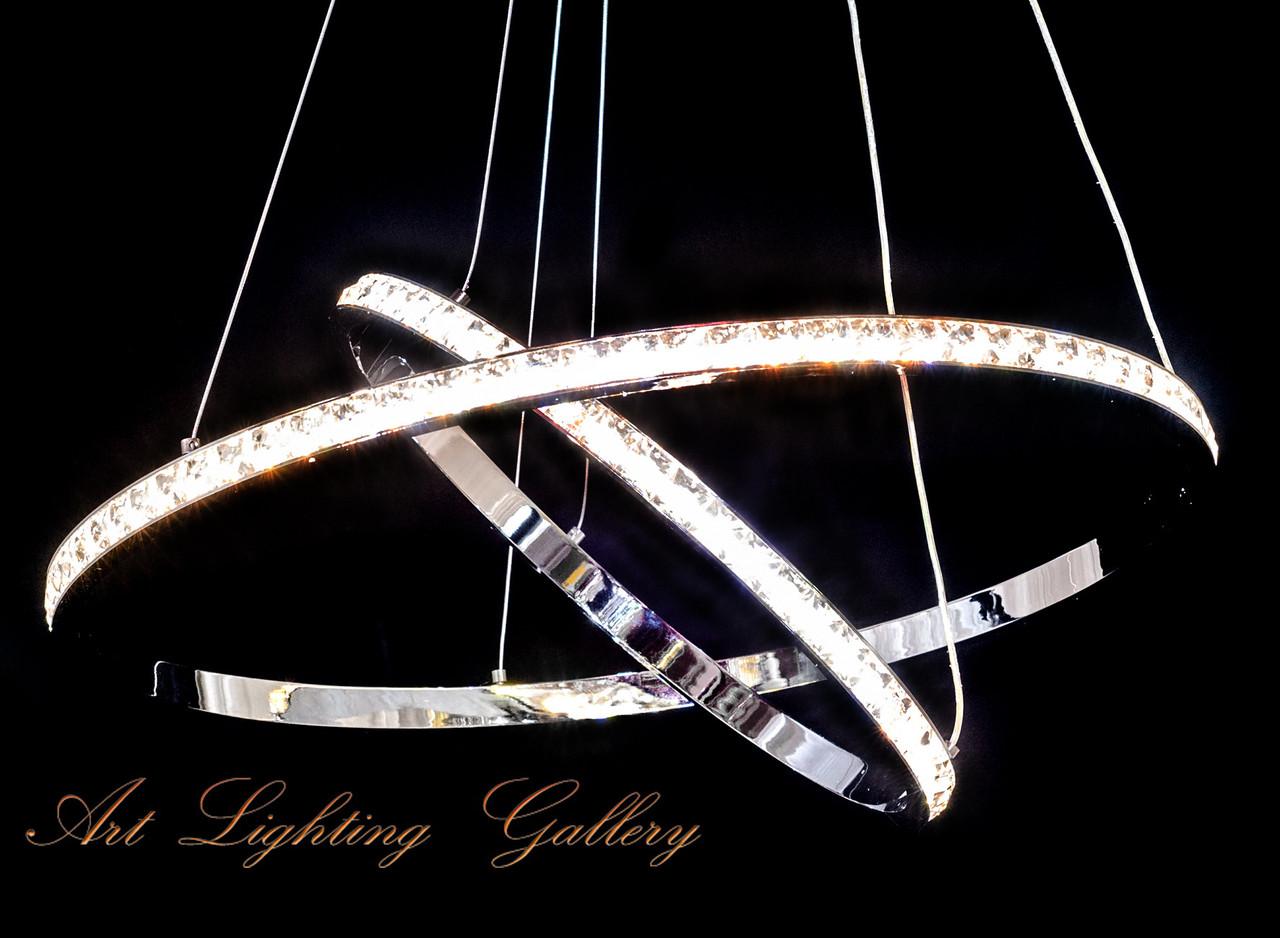 Подвесные светодиодные тонкие кольца