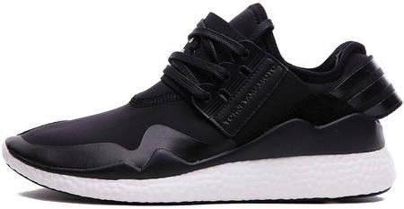 Мужские кроссовки Adidas Y-3 Retro Boost Black, адидас у3