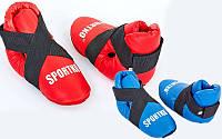 Футы для кикбоксинга, тхэквондо Sportko 4707 (киксы): 2 цвета, размер S-L
