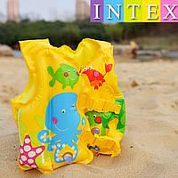 Надувной жилет INTEX 59661. От 3х до 5и лет