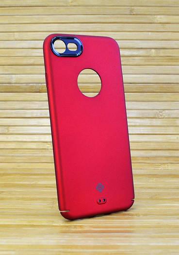 Чехол на Айфон, iPhone 7 пластиковый Totu красный
