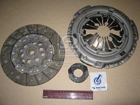 Комплект сцепления Audi A2 2003-2005 (1.4 TDI) Диск+Корзина+выжимной Sachs