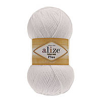 Alize Cotton Gold Plus - 55 белый