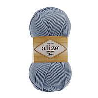 Alize Cotton Gold Plus - 350 голубой