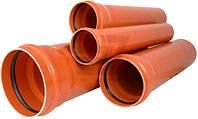 Труба канализационная ПВХ d 110х2,7х3000 мм Pride Plast