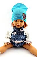 Трикотажная шапка детская 48-53р
