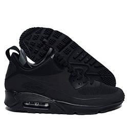 Кроссовки Nike Air Max 90 Mid Winter Black Черные мужские