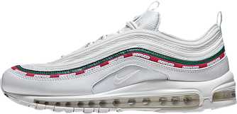 Мужские кроссовки Undefeated x Nike Air Max 97 OG White