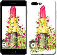 """Чехол на iPhone 7 Plus Помада Шанель """"4066c-337-328"""""""