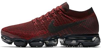 Мужские кроссовки Nike Air VaporMax Deep Red