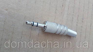 Штекер 3.5 Jack (4 pin), металлический