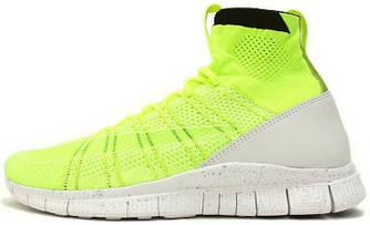"""Мужские кроссовки Nike Free Mercurial Superfly HTM """"Volt"""", найк, фри ран"""