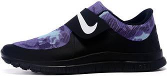 Мужские кроссовки Nike Free Socfly Black Blue, найк сокфлай