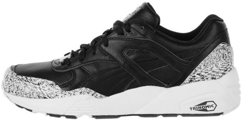 Мужские кроссовки Puma R698 Snow Splatter Pack Black   White 177a391de