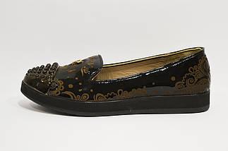 Туфли с абстрактным узором Phany 434, фото 3