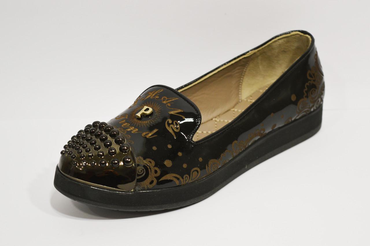 Туфли с абстрактным узором Phany 434