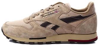 Мужские кроссовки Reebok Classic Leather Utility Cement / Brown, рибок классик