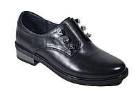 Кожаные женские туфли Polann на низком ходу