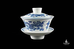"""Гайвань """"Водяной дракон"""" для чайной церемонии Гунфу, 180мл"""