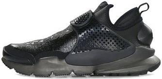 Мужские кроссовки Stone Island x NikeLab Sock Dart Black, найк