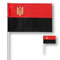 Флажок (прапорець) УПА с тризубом