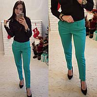 Женские классические брюки по косточку