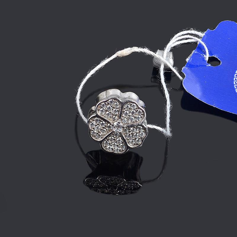 Серебряная подвеска шарм Цветок