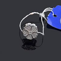 Серебряная подвеска шарм Цветок , фото 1