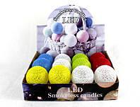 Набор светодиодных свечей 12 шт Led Smokeless Candles