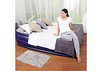 Велюровая кровать надувная Bestway BW 67528