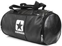 Кожаная сумка бочка Converser, сумка для тренировок, мужская сумка, женская сумка  реплика, фото 1