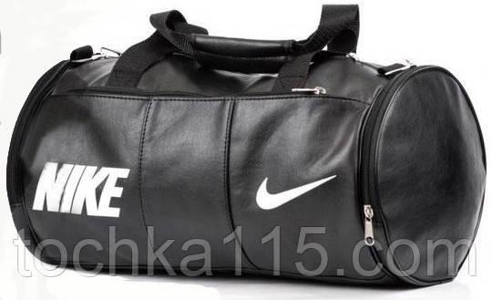 Кожаная сумка бочка Nike, сумка для тренировок, мужская сумка, женская сумка  реплика