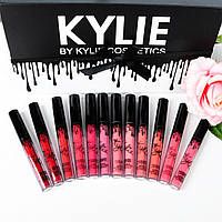 Наборы матовых помад Kylie 12pc Matte Liquid, фото 1