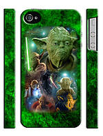 Чехол для iPhone 4/4s/5/5s/5с, Звездные войны, Star wars, Йода