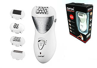 Эпилятор пемза Gemei GM-3061 (4 в 1)