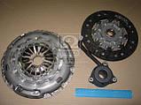 Комплект сцепления Volkswagen Multivan T5 2003-2009 (2.5TDI AXD 130 л.с.) Диск+Корзина+выжимной LUK, фото 2