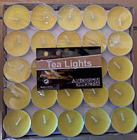 Свечи таблетки  плавающие желтые 100 штук