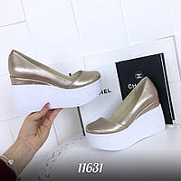 Женские туфли ORLANDO 2  цвет Золото  НОВИНКА