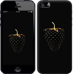 """Чехол на iPhone 5 Черная клубника """"3585c-18-328"""""""